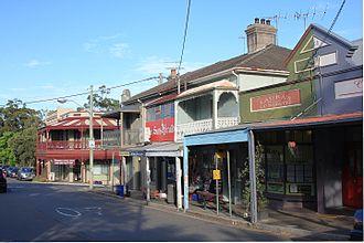 Birchgrove, New South Wales - Rowntree Street