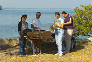 Biscayne National Park H-convoy point picnic.jpg