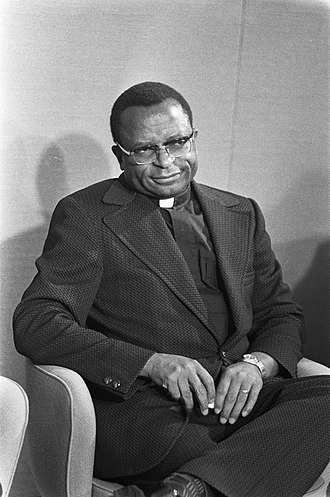 Abel Muzorewa - Muzorewa in 1975