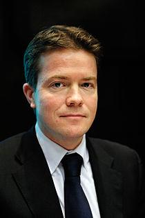 Bjorgvin Gudni Sigurdsson handelsminister och nordisk samarbetsminister Island pa Nordiska radets session i Helsingfors 2008-10-27.jpg