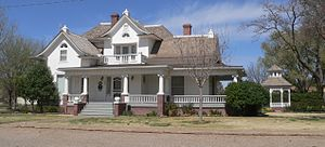 Deaf Smith County Historical Museum - E. B. Black House