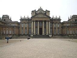Blenheim Palace.