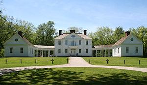 Margaret Agnew Blennerhassett - Replica of the mansion on Blennerhassett Island