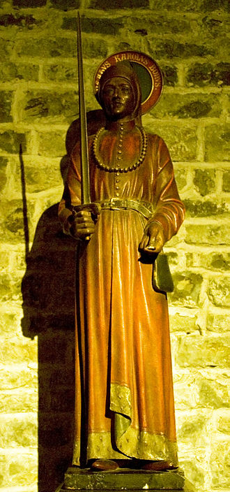 Charles I, Count of Flanders - Statue in the Basilica of the Holy Blood, Bruges