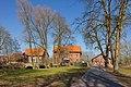 Blick auf Historische Brücke vor der Wassermühle Meyersiek in Steyerberg IMG 0136.jpg