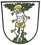 Das Wappen von Blieskastel