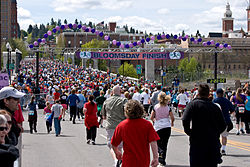 Bloomsday Run Finish Line 2010.jpg