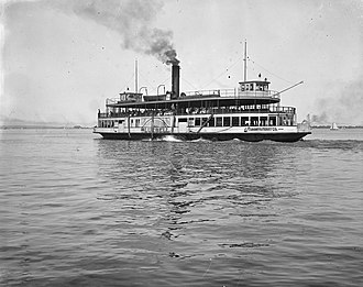 PS Trillium - Image: Bluebell ferry 1920 toronto