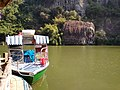 Boat docked at Chenglong Ting.jpg
