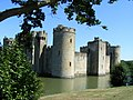 Bodiam Castle and moat - geograph.org.uk - 1412777.jpg