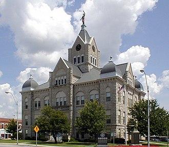 Bolivar, Missouri - Polk County Courthouse, 2004
