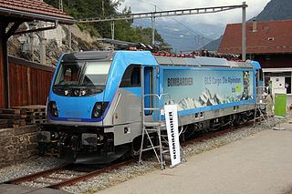TRAXX Family of electric and diesel-electric locomotives manufactured by Bombardier