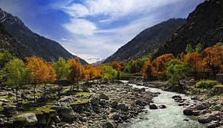 Bumburet Valley in Khyber Pakhtunkhwa, Pakistan