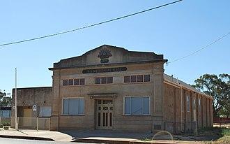 Boree Creek - Image: Boree Creek Soldiers Memorial Hall