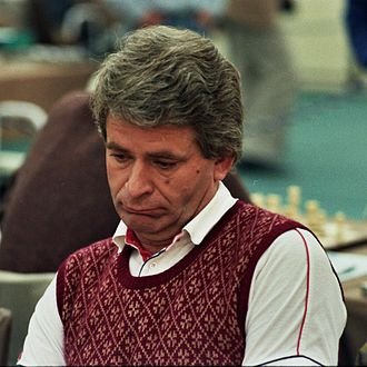 Boris Spassky - Boris Spassky at the Thessaloniki Olympiad, 1984