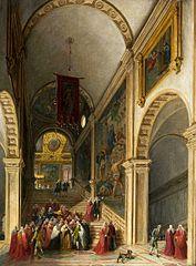 Wizyta doży w Scuola di San Rocco