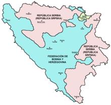 Resultado de imagen de bosnia herzegovina mapa