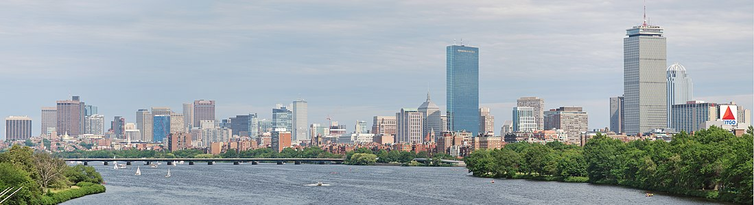 Boston from BU Bridge WADE