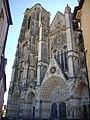 Bourges - cathédrale Saint-Étienne, façade ouest (02).jpg