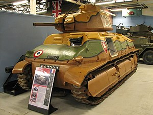 SOMUA S35 - SOMUA S35 at the Bovington Tank Museum