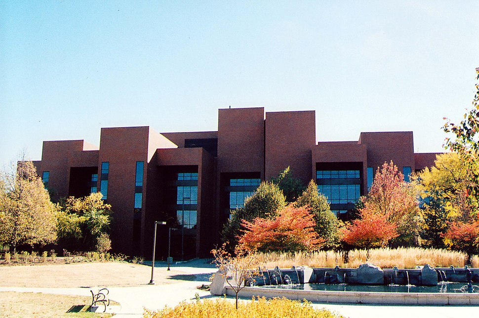 Bracken Library, Ball State University, Muncie, Indiana
