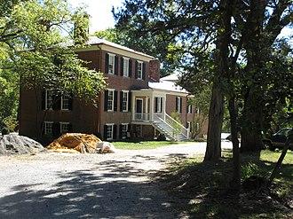 National Register of Historic Places listings in Fredericksburg, Virginia - Image: Braehead 123 Lee Drive
