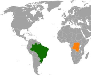 Brazil–Democratic Republic of the Congo relations