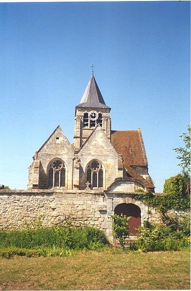 A Brenouille dans l'Oise dans Oise 395px-Brenouille_vue_EST-_Eglise_Saint_Rieul_et_mur_du_cimeti%C3%A8re