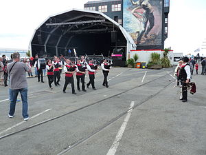 Brest 2012 - Bagad Kerhor - (7).JPG