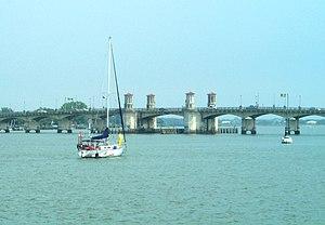 Matanzas River - Bridge of Lions across the Matanzas River