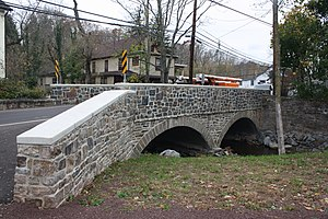 Bridge in Solebury Township - Image: Bridge in Solebury PA 02