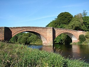Penpont - Bridge over the River Nith, completed in 1778