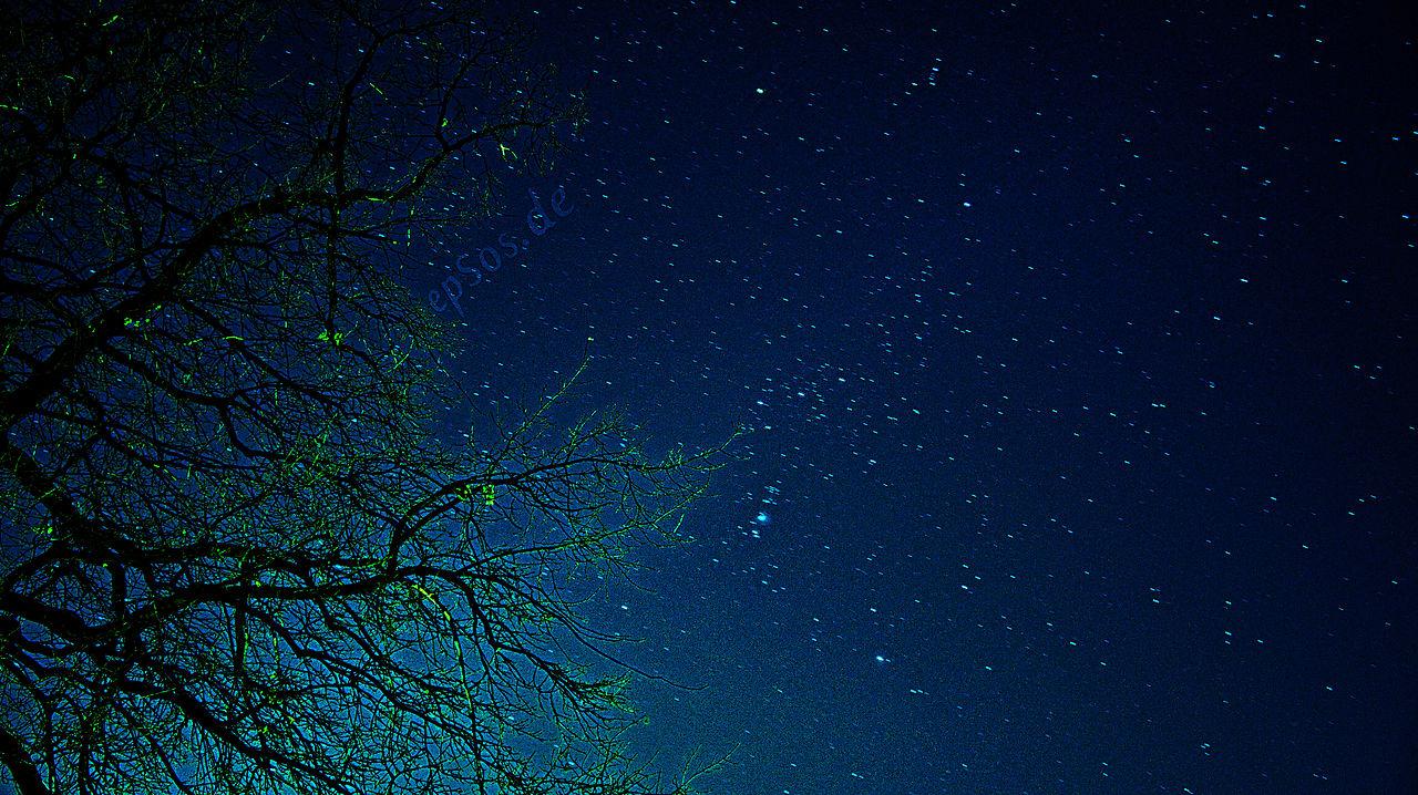 dark blue sky with - photo #26