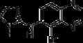 Brimonidine structure.png