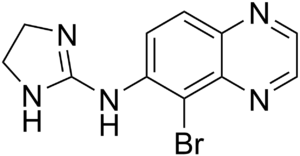 chemical structure of Brimonidine
