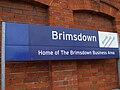 Brimsdown station signage.JPG