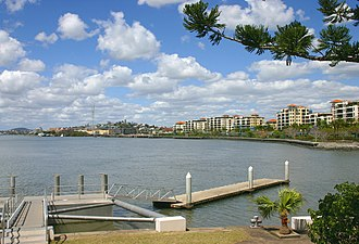 Newstead, Queensland - Newstead has seen much redevelopment in the last 10 years, particularly along the Brisbane River.