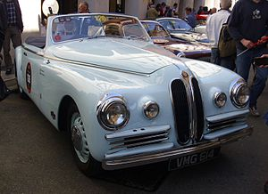 Bristol 400 - Image: Bristol 400 Farina 1949 Front