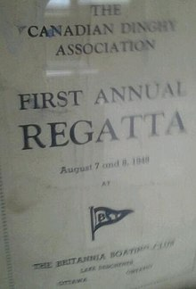 Britannia Yacht Club 1st annual Canadian Dinghy Association Regatta 1948.JPG