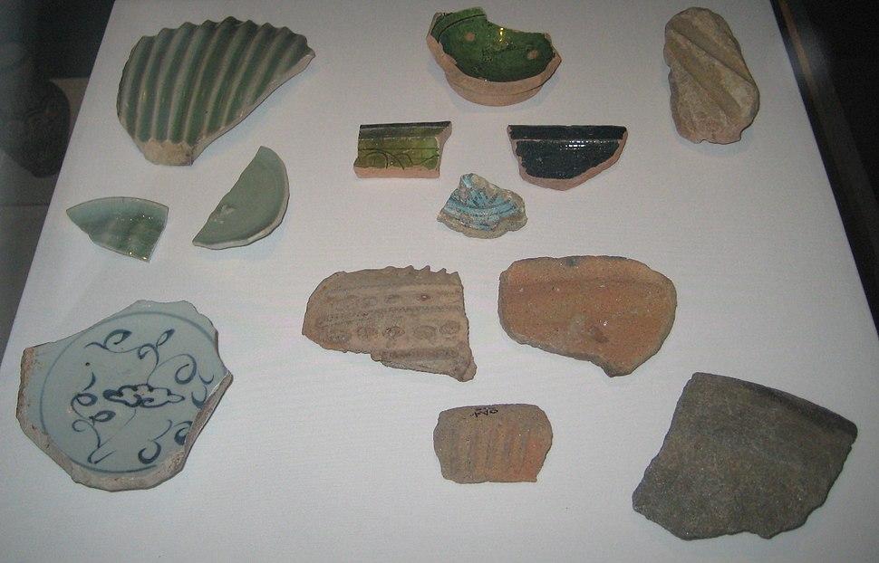 British Museum Kilwa pot sherds
