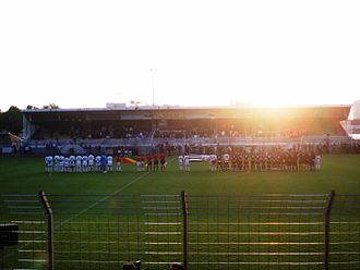 Brittany national football team - Image: Brittany vs Congo 2008