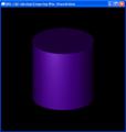 Brlcad windowsxp cylindre violet raytracing.png