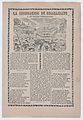 Broadsheet relating to a news story about the cause of a flood in Guanajuato, townspeople drowning MET DP868509.jpg