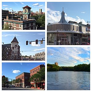 Brookline, Massachusetts - Image: Brookline MA August 2015 Photo Collage 2