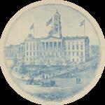 1895 engraving of Brooklyn Borough Hall