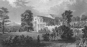 Henry Brougham, 1st Baron Brougham and Vaux - Brougham Hall in 1832.