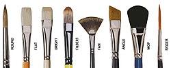 definition of brush