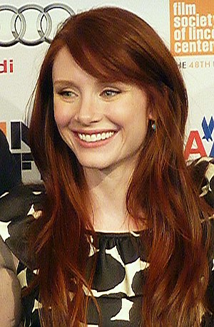 "Jurassic World - Image: Bryce Dallas Howard NYFF 2010 ""Hereafter"" Press Conference(4) (cropped)"