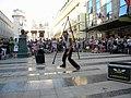 Bucuresti, Romania. Teatrul ODEON. (B-II-m-B-19854) B-FIT IN THE STREET 2018. Spectacol de echilibristica si jonglerie. Artistul Juriy Longhi. (8).jpg