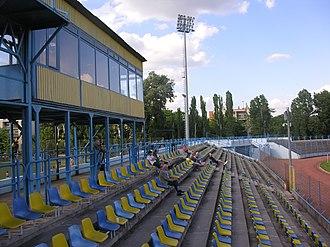 Budai II. László Stadion - Image: Budai II László Stadion 2013 No 2